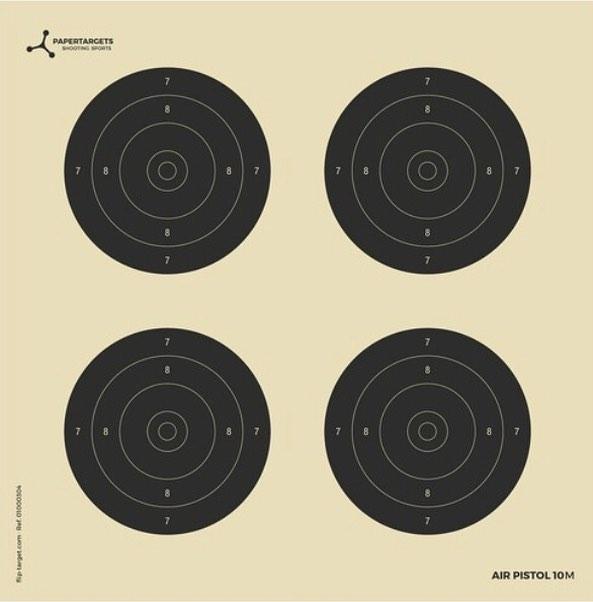 Air Pistol Target 10m